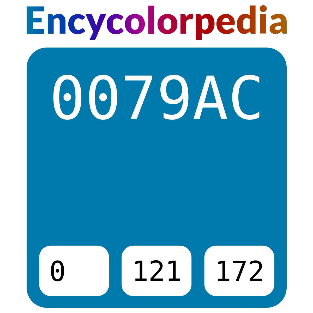 Tabella Colori Sikkens Ral sikkens s5.48.41 (ral 5015) / #0079ac schema codici per