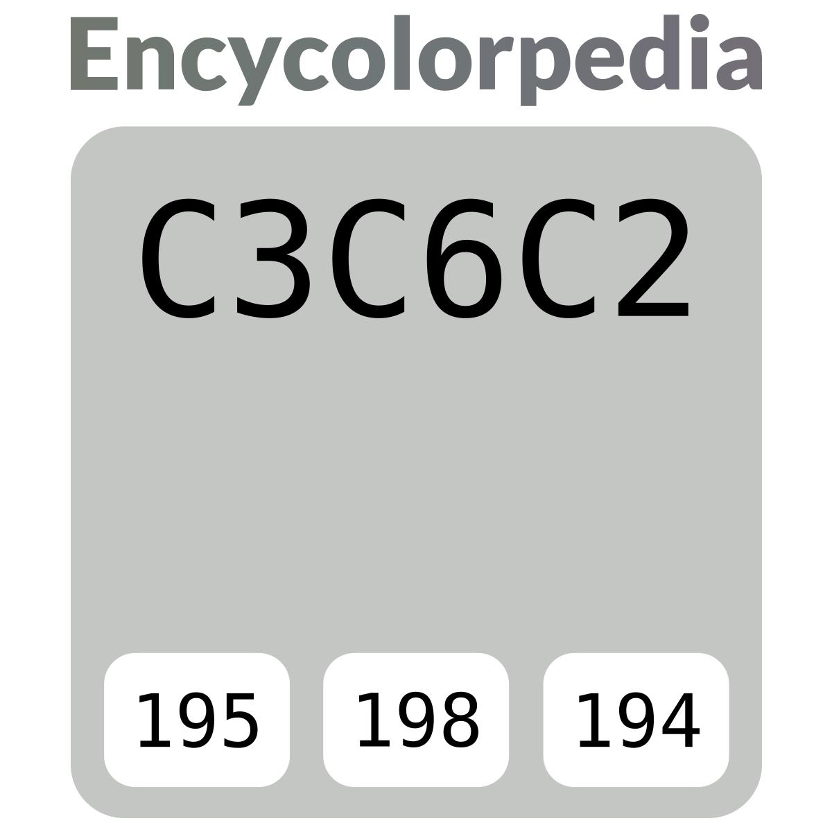Tabella Colori Sikkens Ral sikkens kn.01.74 (ral 7035) / #c3c6c2 schema codici per
